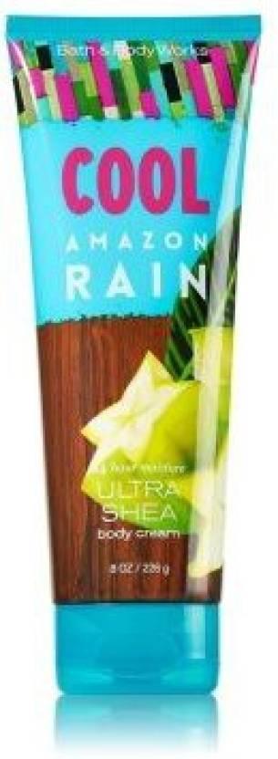 Bath Body Works Ultra Shea Body Cream Cool Amazon Rain Price In