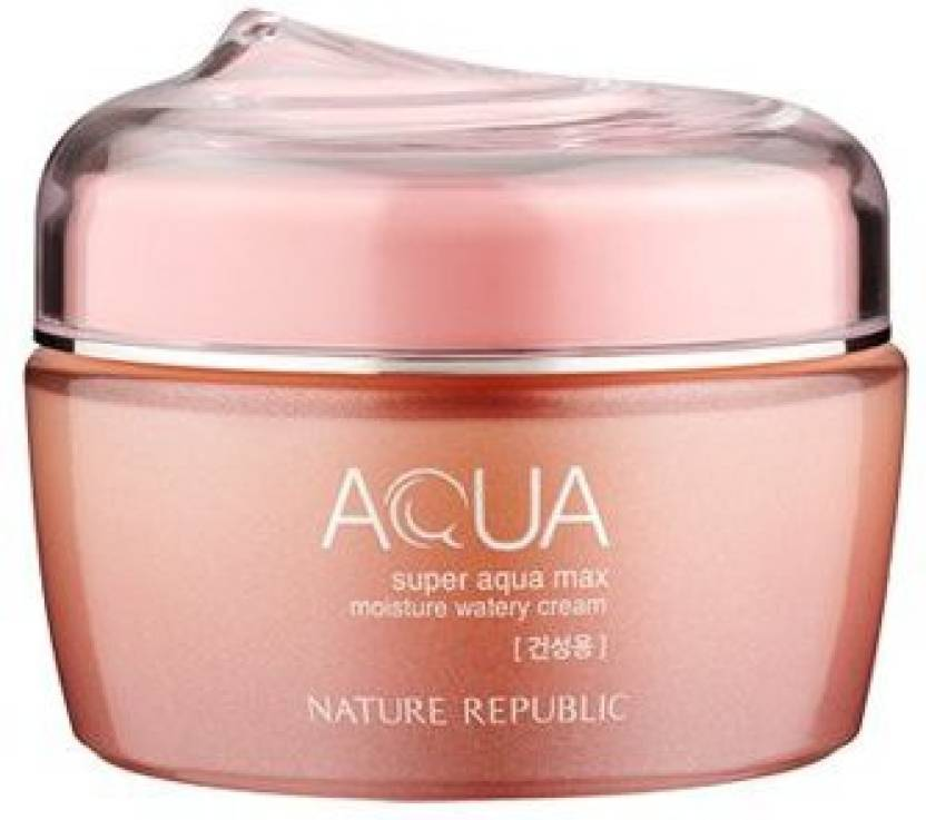 Nature Republic Super Aqua Max Moisture Watery Cream(for Dry Skin) , Ns07-