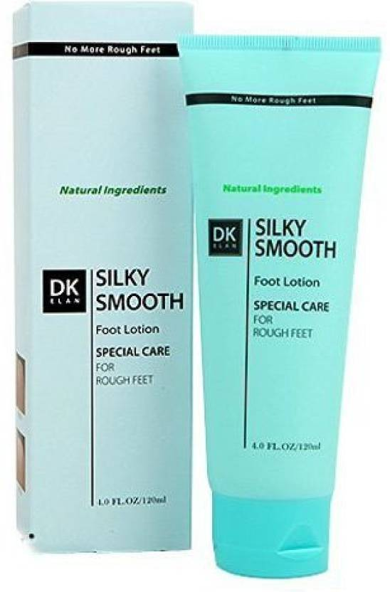 Dk Elan Silky Smooth Foot Lotion - For Dry, Rough, Cracked Heel