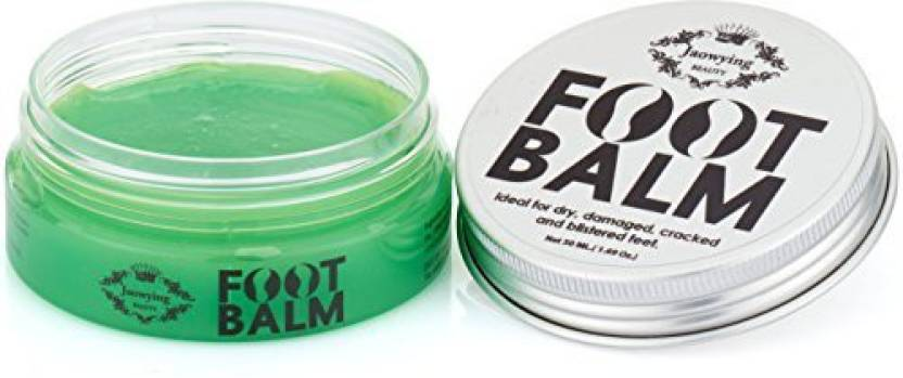 Jaowying Beauty Mint Foot Balm for Cracked, Rough & Dry Heels , Deeply Nourishing