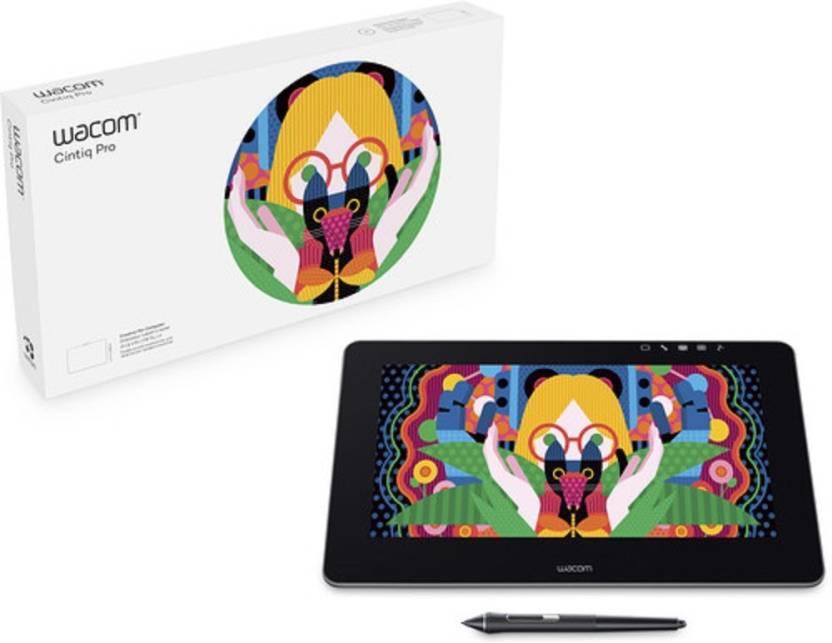 WACOM Cintiq Pro 13 DTH1320 K4 C 1475 X 975 Inch Graphics Tablet