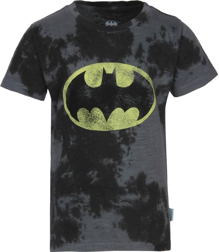 0f34178101 Batman Boys Graphic Print Coton T Shirt Price in India - Buy Batman ...