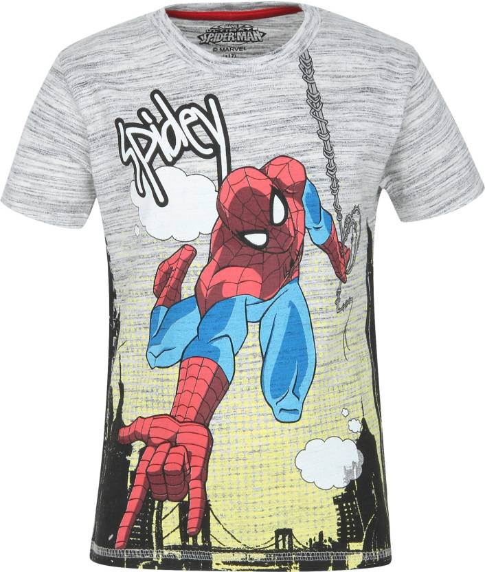 e281fc44 Spiderman Boys Printed Coton T Shirt Price in India - Buy Spiderman ...