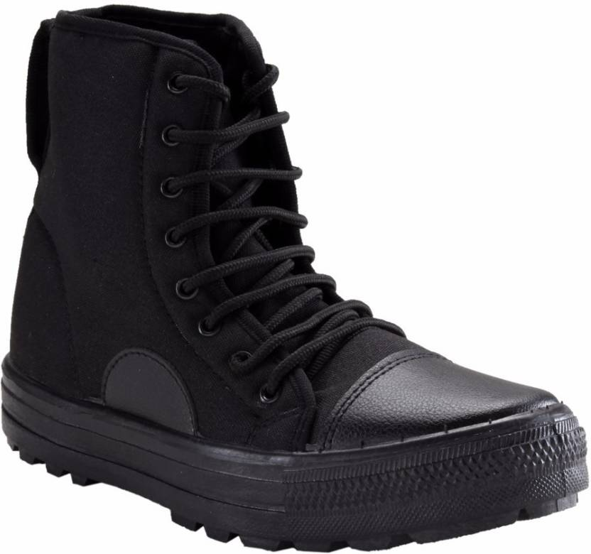 Unistar High Ankle Jungle Boots For Men | Buy Unistar High Ankle ...