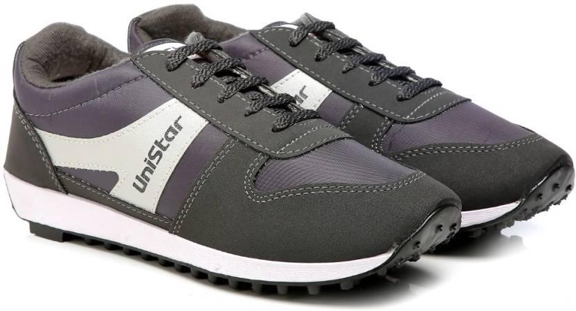 ec64966999f8c8 Unistar 602 Jogging (Narrow Toe) Running Shoes For Men - Buy Grey ...
