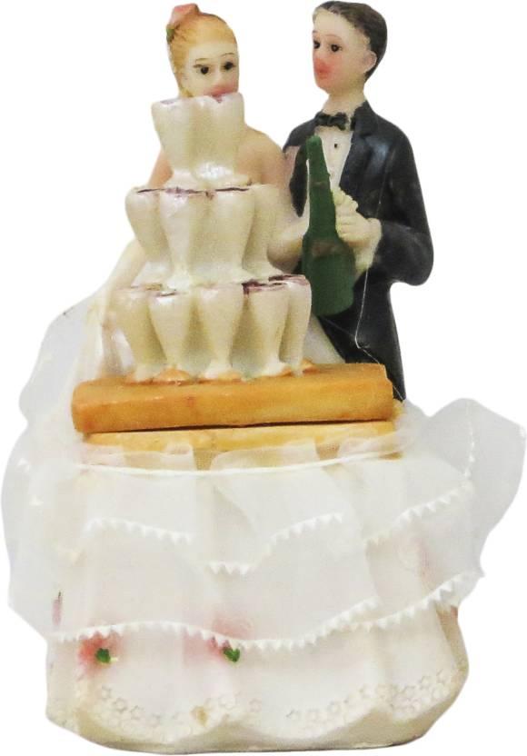 Gods Gifts Wedding Couple Decorative Showpiece 9 Cm Price In