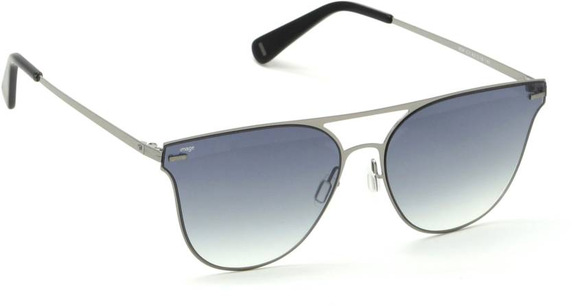 844fa36df8 Buy IMAGE Round Sunglasses Black