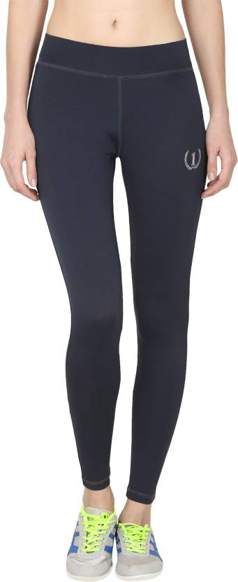 52d2fe663d0 Onesport Solid Women s Blue Tights - Buy Onesport Solid Women s Blue ...