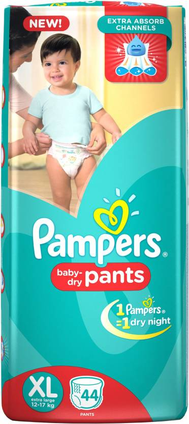 Pampers Pant Diapers - XL