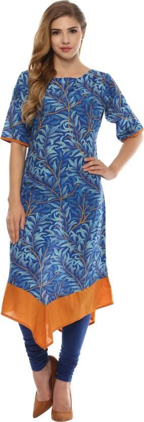 INDIMANIA Casual Printed Women Kurti