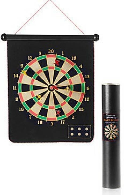 Sports Solutions Magnetic 17 Inch Board 6 Magnetic Darts Board Game