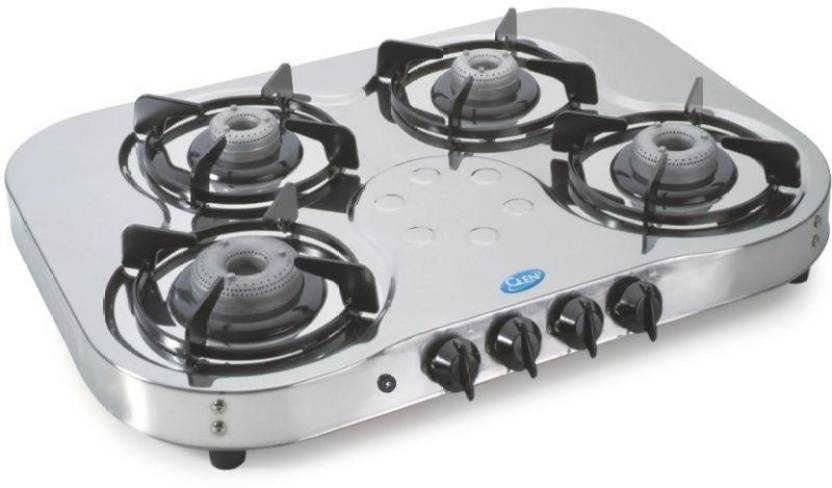 Glen Gl 1045 Hf Ai Gas Cooktop Stainless Steel Automatic Stove 4 Burners