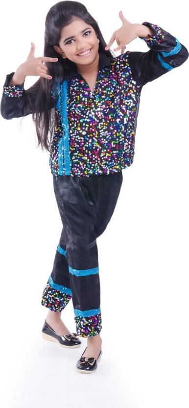 Fancydresswale Black dance dress Kids Costume Wear Price in