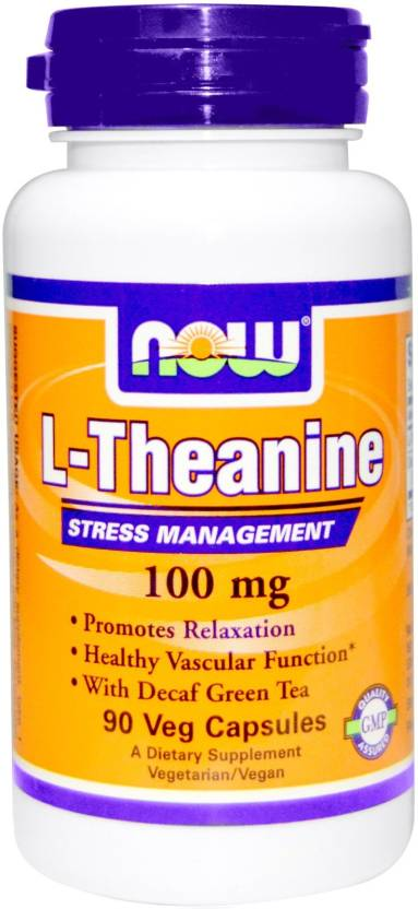 Now Foods L-Theanine Price in India - Buy Now Foods L