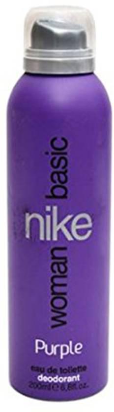 Nike Basic Purple Deodorant Spray  -  For Women