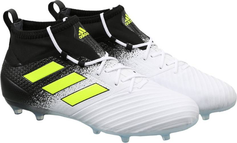 9f8f2ae9150 ADIDAS ACE 17.2 FG Football Shoes For Men - Buy FTWWHT SYELLO CBLACK ...