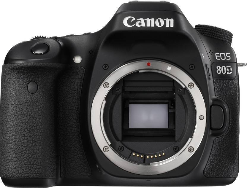 Canon EOS 80D(W) DSLR Camera (Body only)