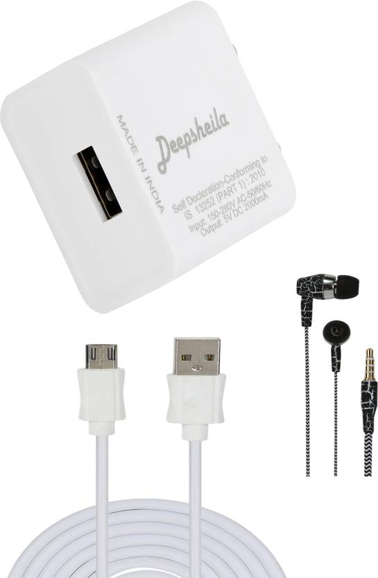 DEEPSHEILA Wall Charger Accessory Combo for HONOR 8 LITE