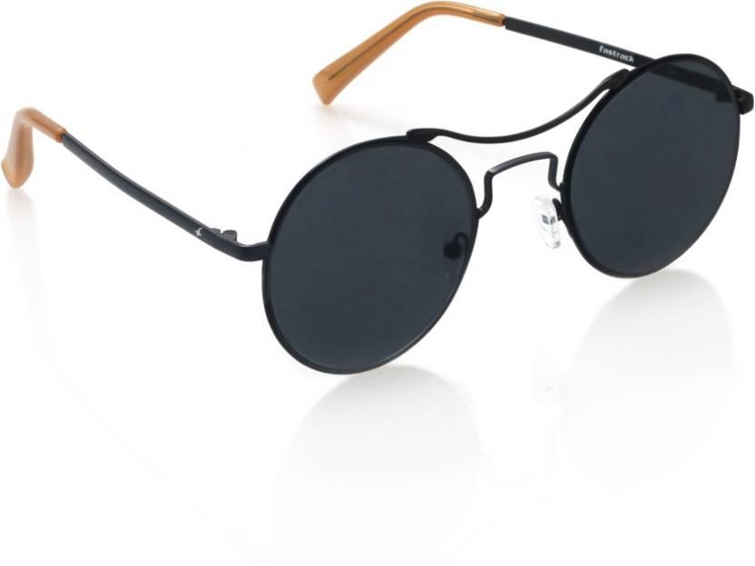 efee9b0e66c Buy Fastrack Round Sunglasses Violet For Men Online   Best Prices in ...