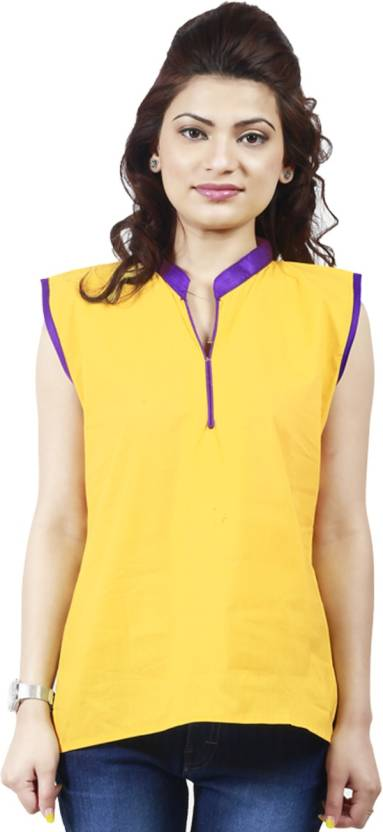 Netra Fashion Casual Solid Women's Kurti