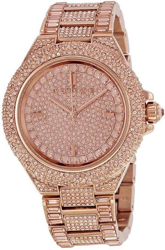 2c08d6cc1aca Michael Kors MK5862 Camille Dial Rose Gold-Tone Watch - For Women - Buy  Michael Kors MK5862 Camille Dial Rose Gold-Tone Watch - For Women MK5862  Online at ...