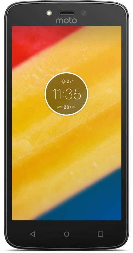 Moto C Plus (Pearl White, 16 GB)