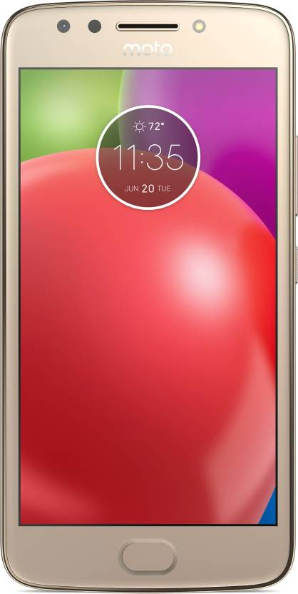 Moto E 4th Gen  Blush Gold with White TP, 16   GB  2   GB RAM  available at Flipkart for Rs.8999