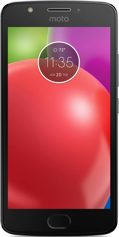 Moto E 4th Gen  Iron Gray with Black TP, 16   GB  2   GB RAM  available at Flipkart for Rs.8989