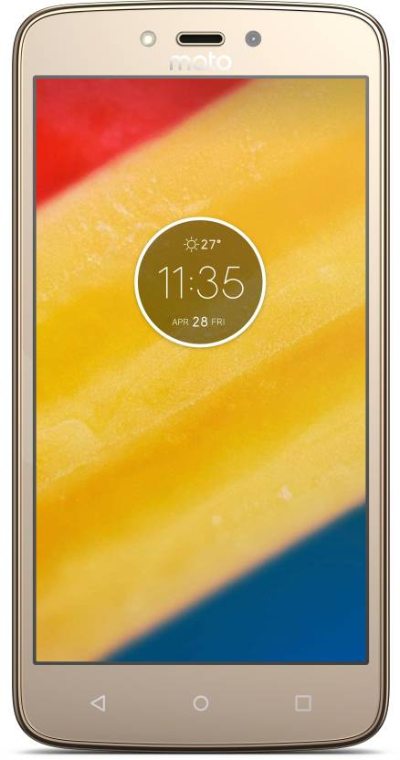 Moto C Plus (Fine Gold, 16 GB)
