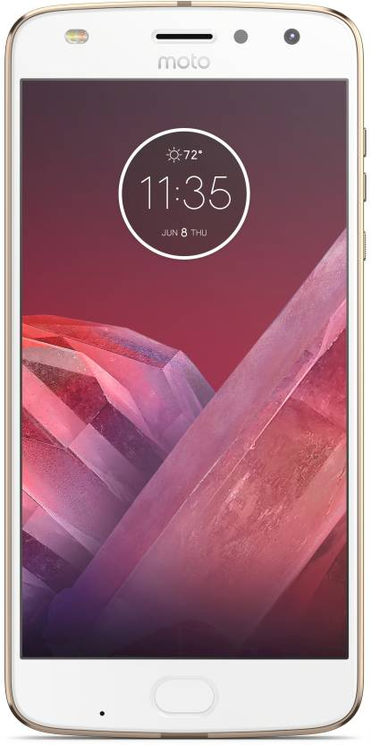 Moto Z2 Play (Fine Gold, 64 GB)