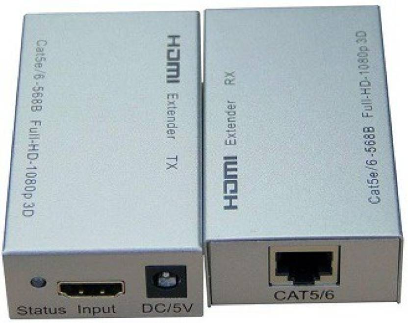 Terabyte 60M HDMI Extender Over Cat 5e/6 Media Streaming Device ...