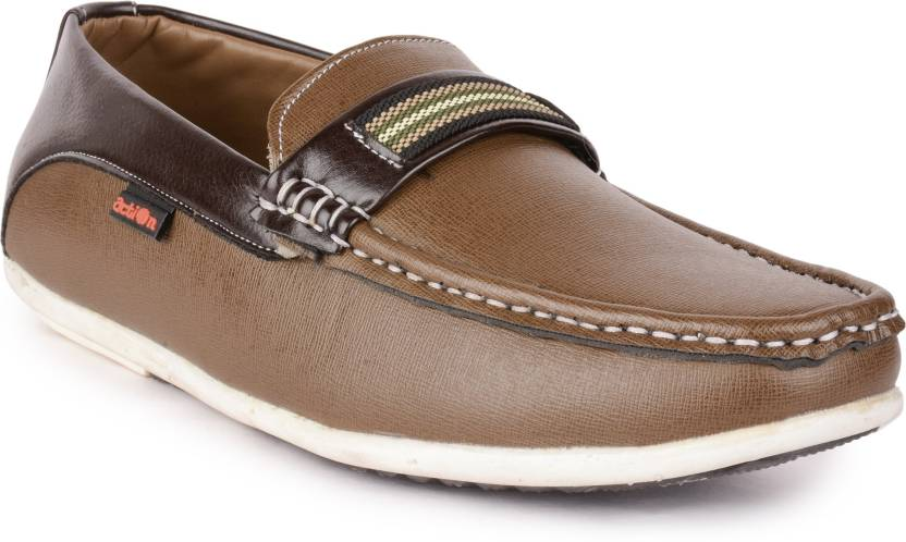 15fe1660c32 Action Shoes DS-35-CHIKU-BROWN Loafers For Men - Buy DS-35-CHIKU ...