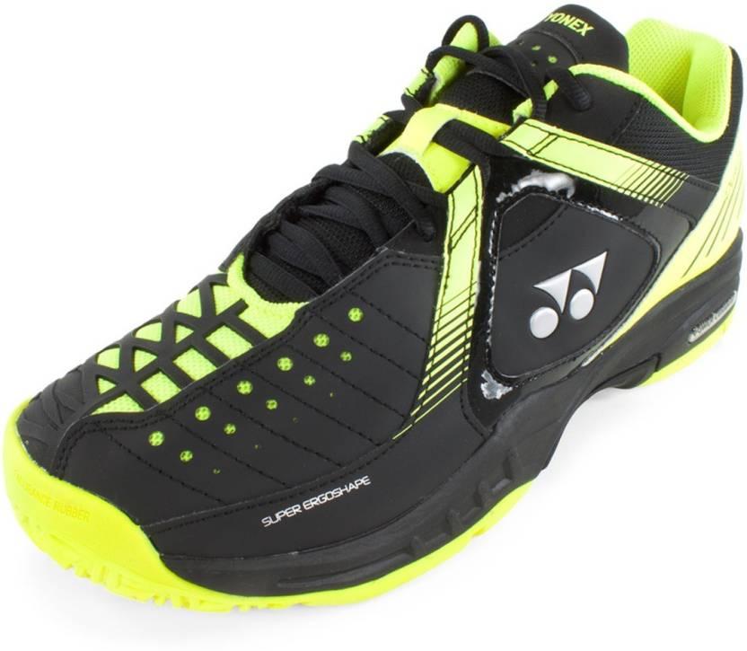 Yonex Power Cushion  Badminton Shoe White Black Yellow