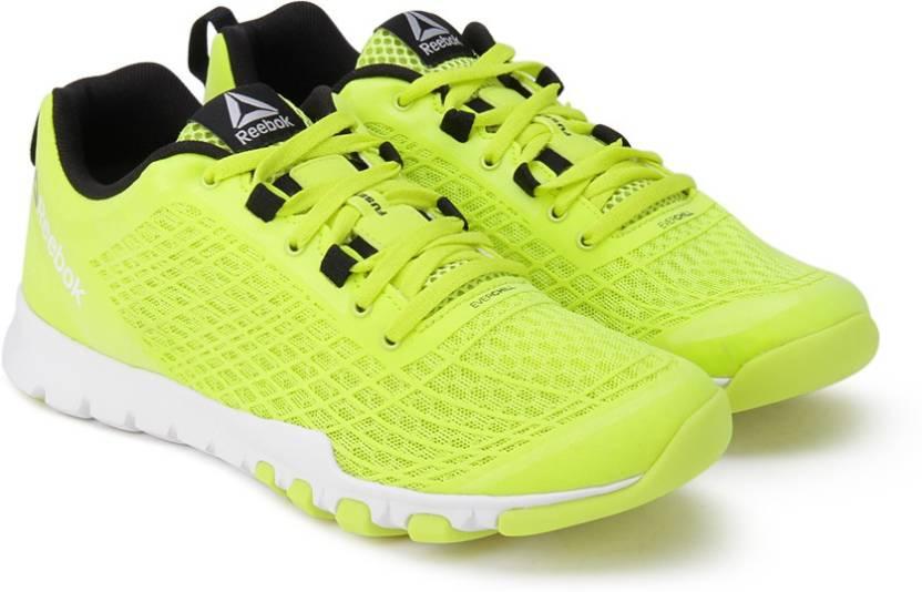 e952a85fdf6 REEBOK EVERCHILL TRAIN Training Shoes For Women - Buy YELLOW WHITE ...