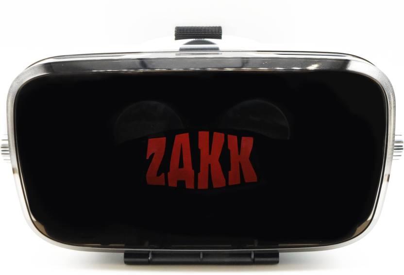 Zakk Orbit VR Box With Attached Headphones  (Smart Glasses)-78% OFF