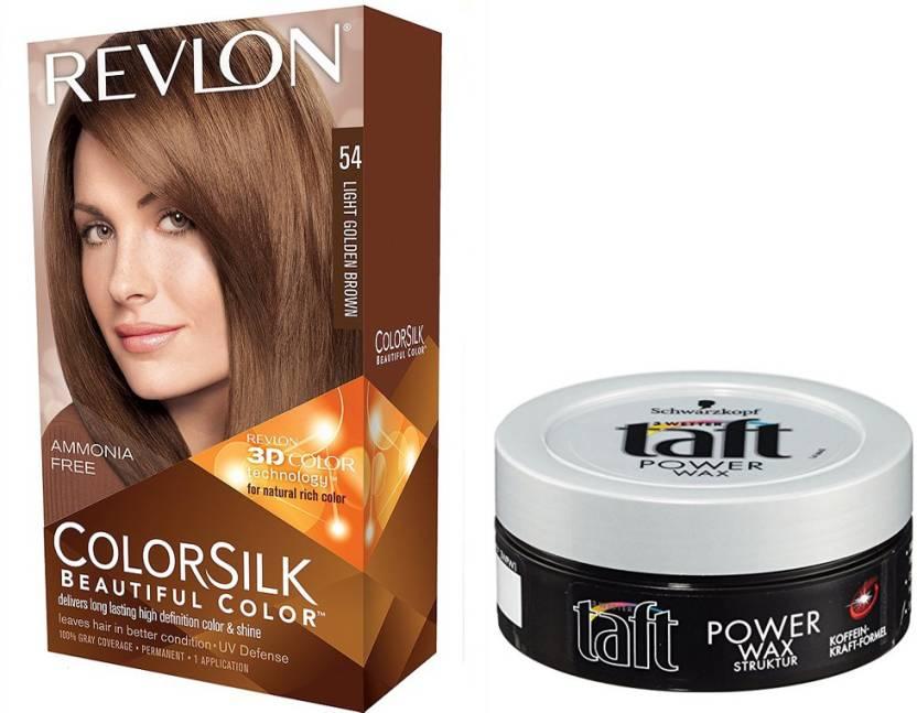 Revlon LIGHT GOLDEN BROWN HAIR COLOUR WITH SCHWARZKOPF TAFT