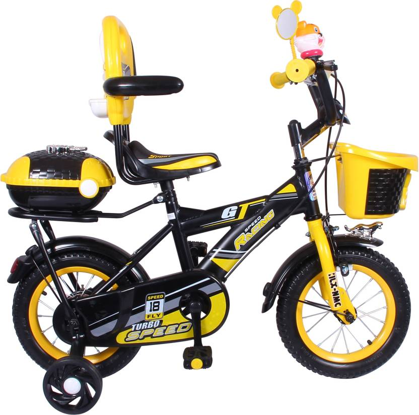 Hlx Nmc Kids Bicycle 16 Bowtie Yellow Black 16 T Recreation Cycle