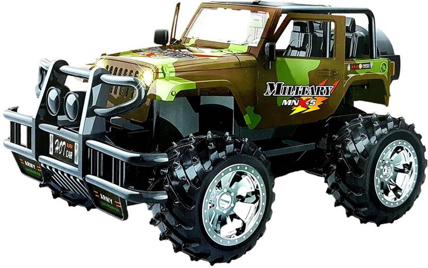 Toyshine Remote Control High Power Jeep Car Toy Opening Doors