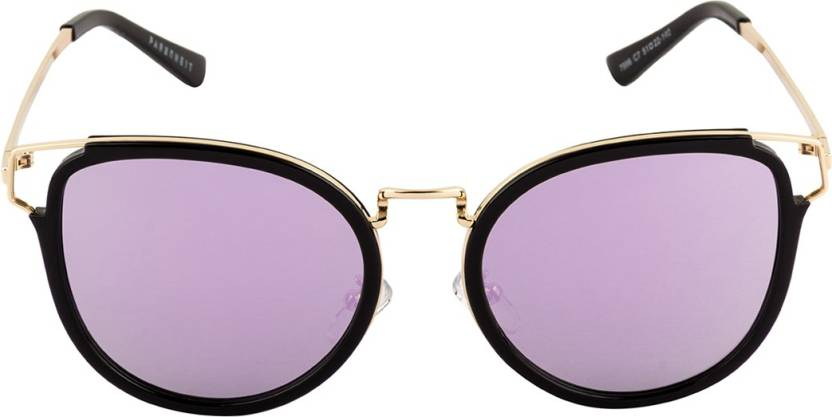 Get best deal for Farenheit FA-7996-C7 Round Sunglasses  (Violet) at Compare Hatke
