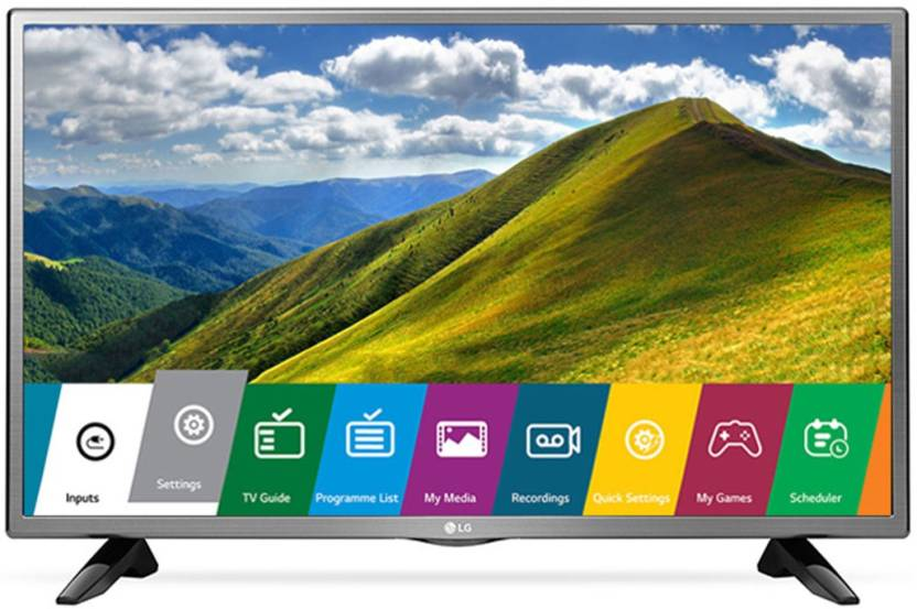 LG 80cm  32  HD Ready LED TV   32LJ522D, 2 x HDMI, 1 x USB  available at Flipkart for Rs.19999
