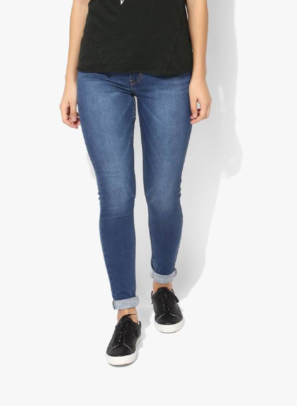 90a2393d277 Fourgee Slim Women Blue Jeans - Buy Fourgee Slim Women Blue Jeans Online at  Best Prices in India