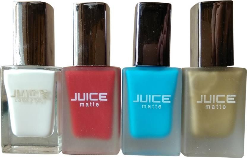 Juice Matte Nail Polish White - Price in India, Buy Juice Matte Nail ...