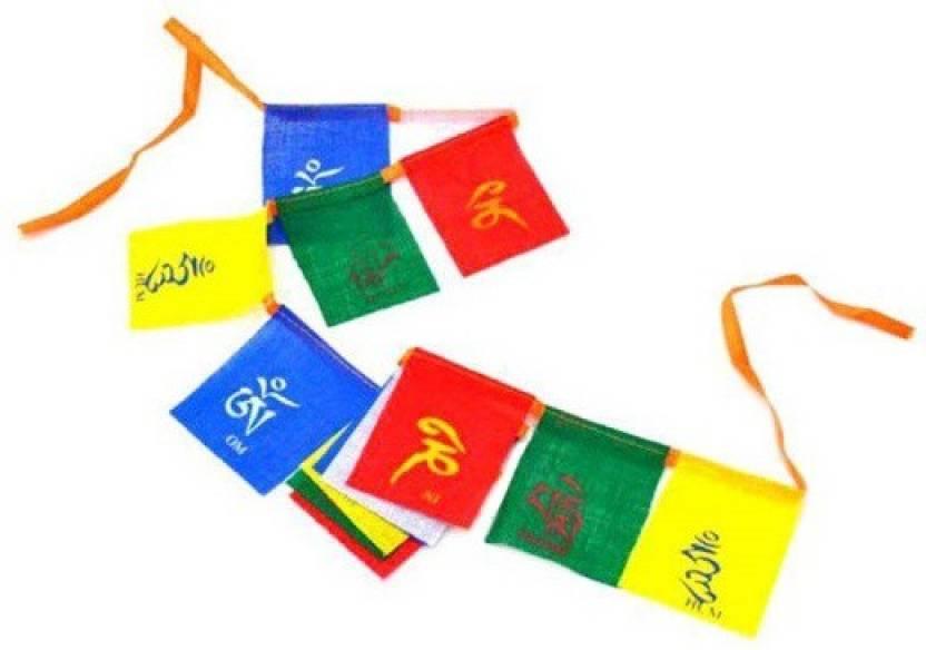 spydo Multicolour Cotton Tibetan Buddhist Prayer Mantras