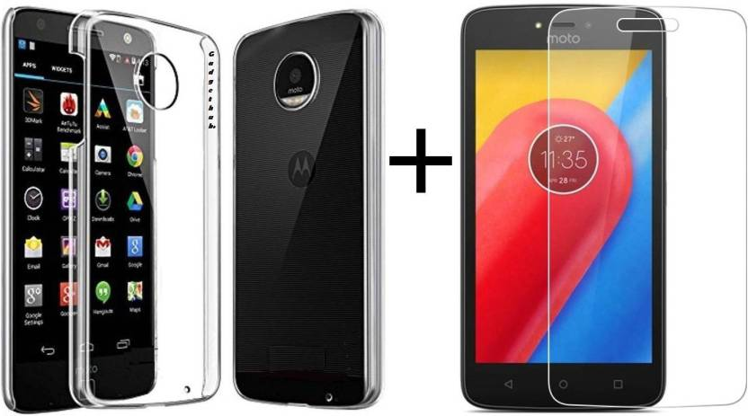 adf1e8032ce2 XOLDA Cover Accessory Combo for MOTOROLA MOTO C PLUS Price in India ...