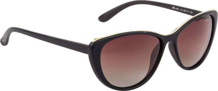 ce66341bff0 Buy Farenheit Cat-eye Sunglasses Brown For Women Online   Best ...