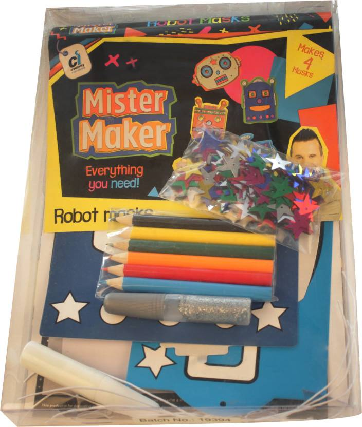 Mister Maker Robot Masks Robot Masks Shop For Mister Maker