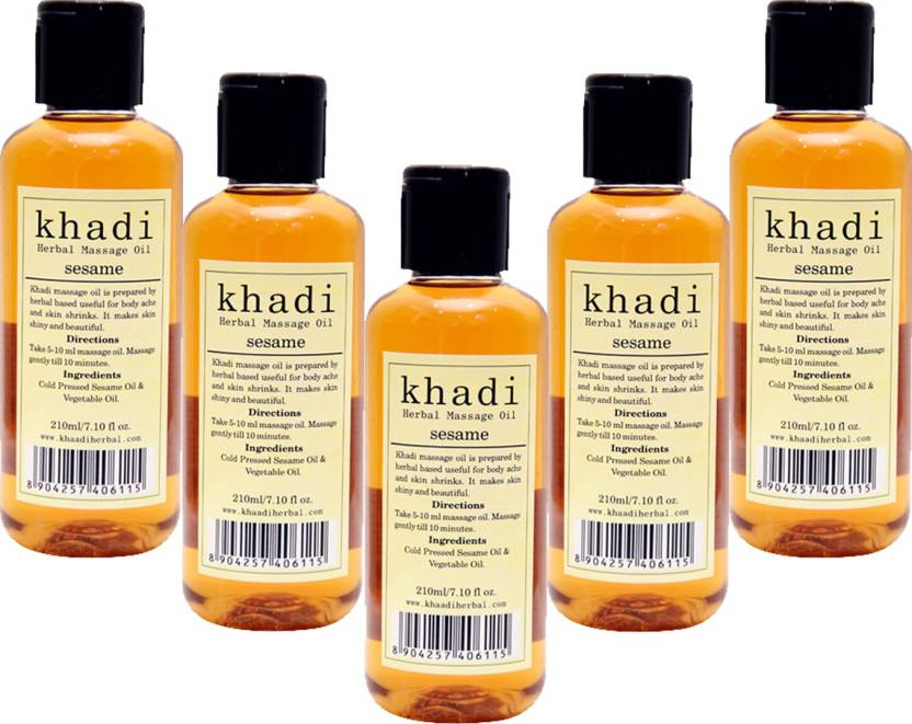 Khadi Herbal Sesame Massage Oil - Buy Baby Care Products in
