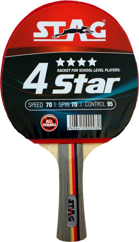 Stag 4 Star Table Tennis Racquet