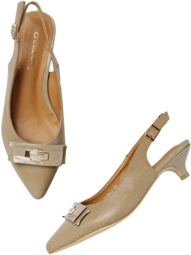 1f8e6ac01926 Dressberry Women Brown Heels - Buy Dressberry Women Brown Heels Online at  Best Price - Shop Online for Footwears in India