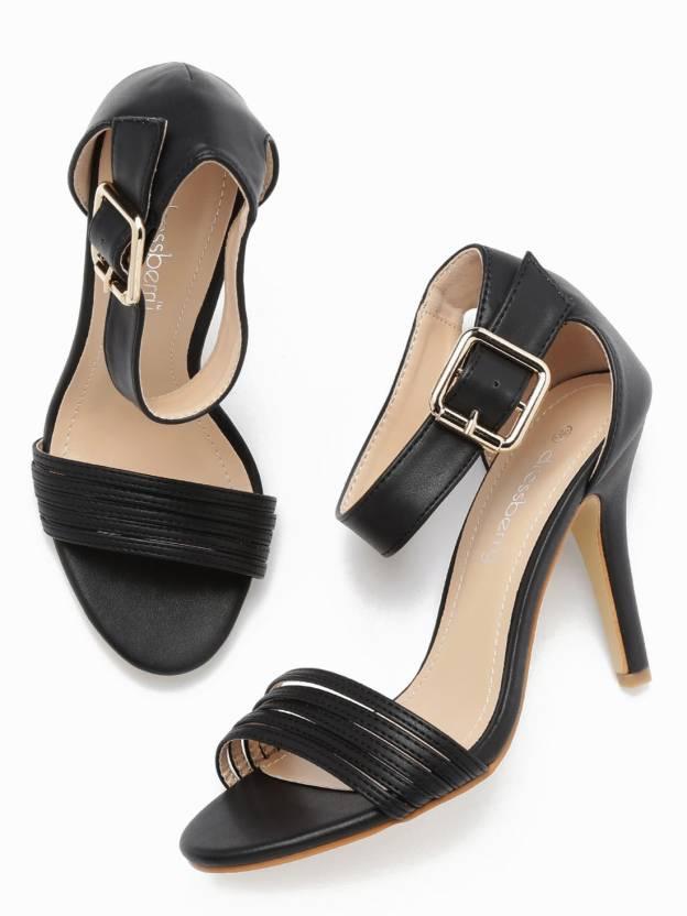 ebe2964292d Dressberry Women Black Heels - Buy Dressberry Women Black Heels Online at  Best Price - Shop Online for Footwears in India